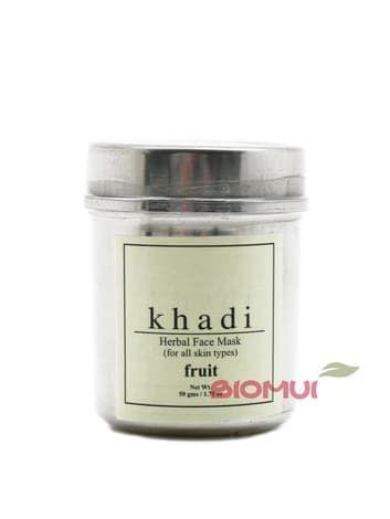 Сухая отбеливающая фруктовая маска-убтан для лица Khadi (сияние кожи)