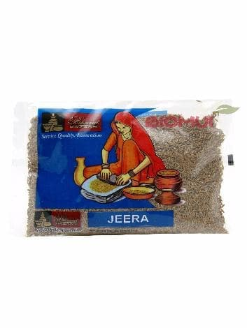Зира (кумин, римский тмин, кмин) (семена) (Bharat Bazaar)