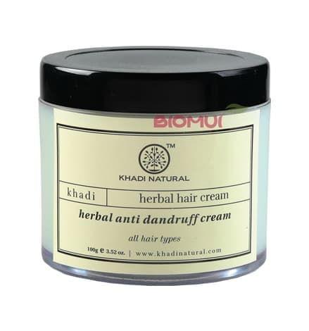 Натуральный крем для волос против перхоти Khadi