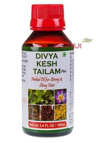 Аюрведическое масло от выпадения волос Kesh Tailam Divya Patanjali