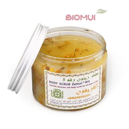 Антицеллюлитный солевой скраб с грейпфрутом Zeitun (Zeitun (Зейтун))