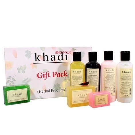 Подарочный набор для ухода за всем телом Khadi