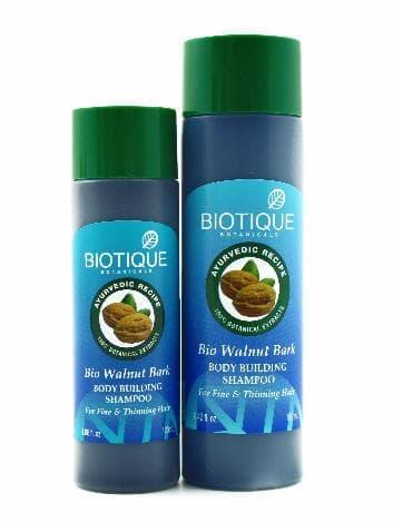 Уплотняющий шампунь для тонких волос Biotique