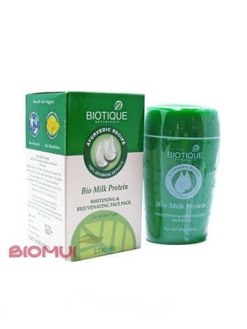 Омолаживающая маска для лица с молочным протеином Biotique