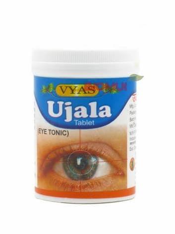 Уджала таблетки Vyas (тоник для зрения)