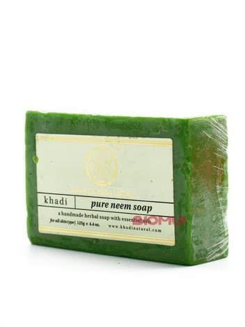 Натуральное антисептическое травяное мыло с нимом Khadi