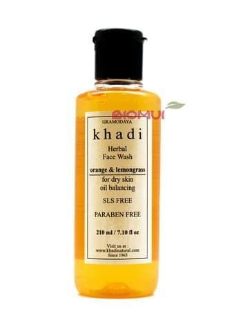 Балансирующий очищающий гель с апельсином и лимонником Khadi