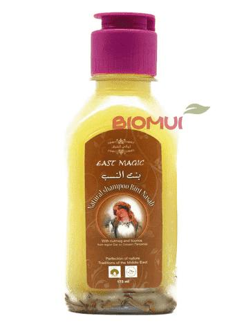 Натуральный шампунь от выпадения волос с маслом мускатного ореха Bint Nasab (East Magic)