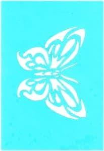 Самоклеющийся трафарет Butterfly exotic