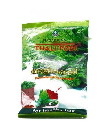 Аюрведический травяной шампунь для волос Thali Podi (Nagarjuna)