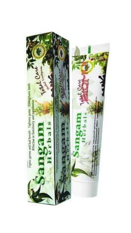 Травяная зубная паста Sangam Herbals