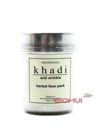 Сухая маска-убтан с сандалом и папайей для возрастной кожи Khadi