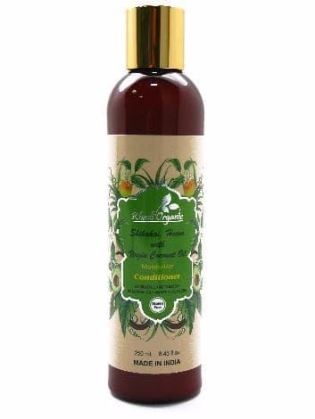 Увлажняющий кондиционер с акацией, хной и кокосовым маслом Khadi Organic (Indian Khadi)