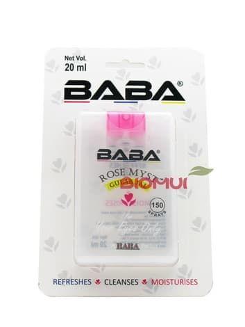 Натуральные капли для глаз из розовой воды Baba