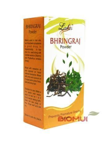 Порошок Bhringraj (Бринграж) для поддержания здоровья волос Lalas