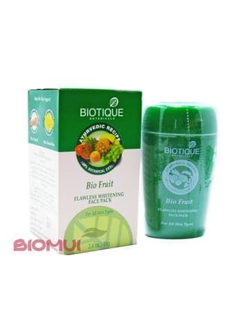 Отбеливающая фруктовая маска для лица Biotique