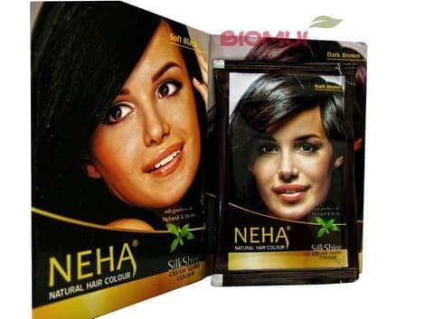 Хна для волос Neha (100% закрашивание седины)