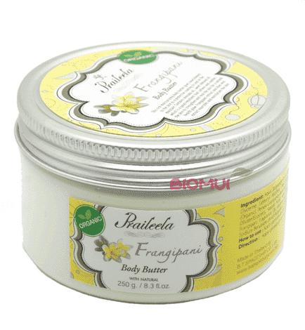 Крем-масло для тела с франжипани Praileela