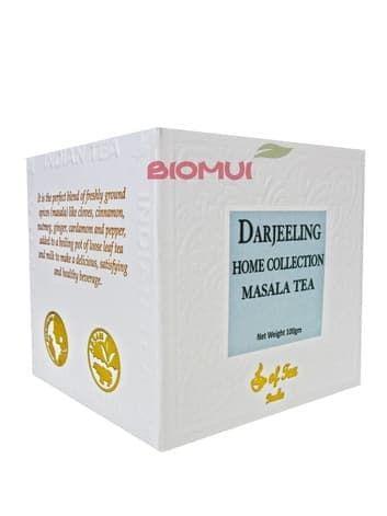 Натуральный крупнолистовой черный чай со специями Масала Darjeeling (Bharat Bazaar)
