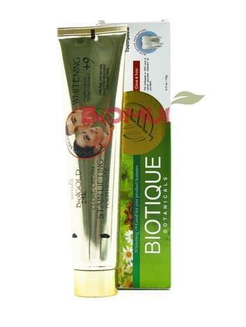 Натуральная зубная паста с гвоздикой и базиликом Biotique (комплексная защита)