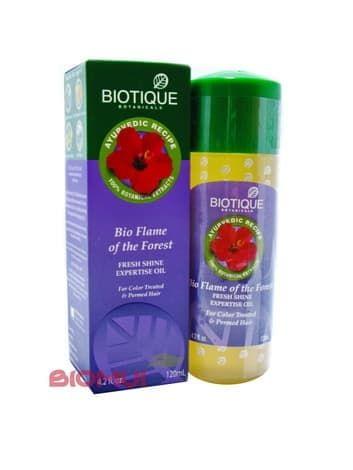 Восстанавливающее масло для окрашенных волос Biotique