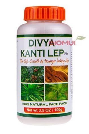 Растительная убтановая смесь для приготовления масок Divya Kantilep Patanjali
