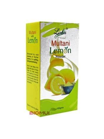 Освежающая маска для лица с лимоном Lalas