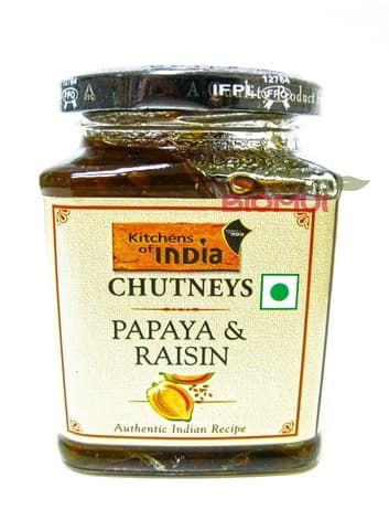 Чатни с папайей и изюмом Kitchens of IndiaВосточные сладости<br><br>