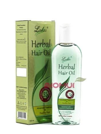 Комплексное травяное масло для волос с мускатным корнем и брахми  LalasМасло для волос<br>Идеальное средство для полноценного ухода и восстановления светлых волосам. Не окрашивает волосы, укрепляет, питает и стимулирует рост, обладает приятным ароматом.<br>