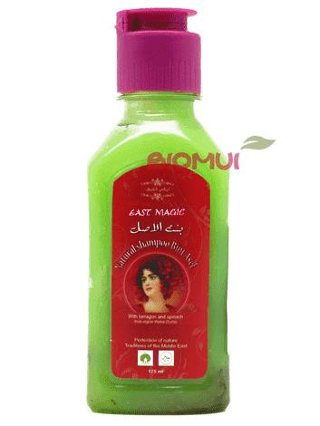 """Натуральный восстанавливающий шампунь с маслом листьев эстрагона """"Bint Asel"""" от BioMui"""
