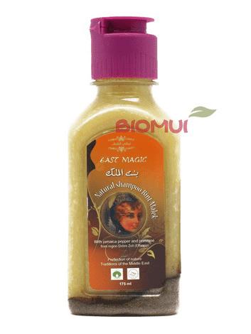 Натуральный шампунь с маслом плодов душистого перца Bint Malek (East Magic)