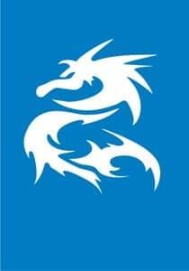 """Самоклеющийся трафарет """"Angry draco"""" от BioMui"""