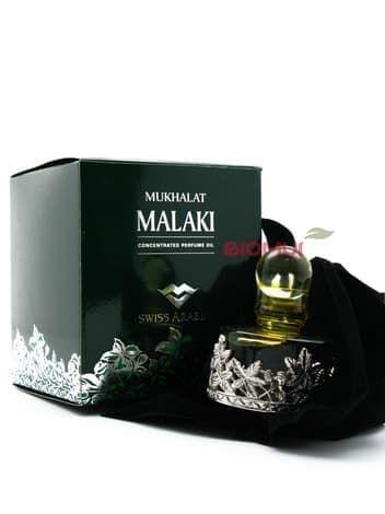 Масляные духи Mukhalat MalakiЭксклюзивные духи<br>Mukhalat Malaki гармонично сочетает дымную прелесть древесины уда, животное амбровое тепло и яркие цветочные нюансы.<br>