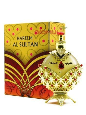 Масляные духи Hareem Al Sultan GoldЭксклюзивные духи<br>Упоительные, сочные, чарующие, цветочно-фруктовые масляные духи.<br>