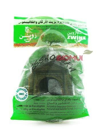 Зеленое мыло-бельди с эвкалиптом