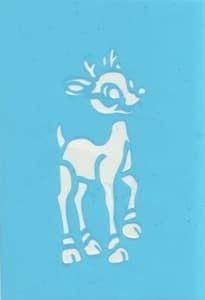 Самоклеющийся трафарет для тату BambiТрафарет для менди<br><br>