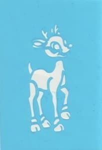 "Самоклеющийся трафарет для тату ""Bambi"" от BioMui"