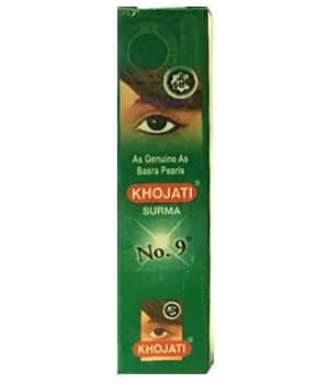 """Универсальная сурьма для глаз """"Khojati Black № 9"""" от BioMui"""