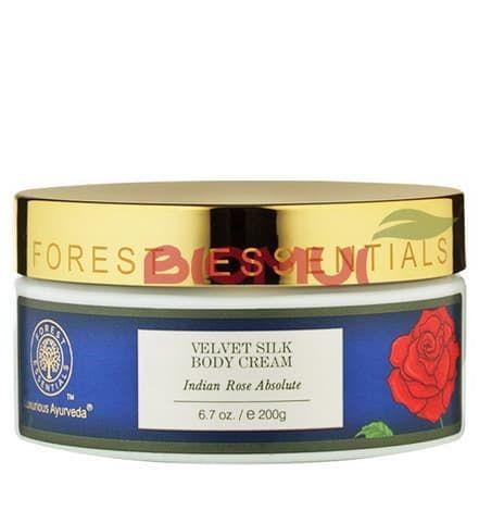 Бархатный крем-шелк для тела с абсолютом розы дамасской Forest EssentialsКрем<br>Глубоко увлажняет и питает, делая тело свежим и подтянутым, а так же придавая ему упоительный, цветочный и очень женственный аромат.<br>