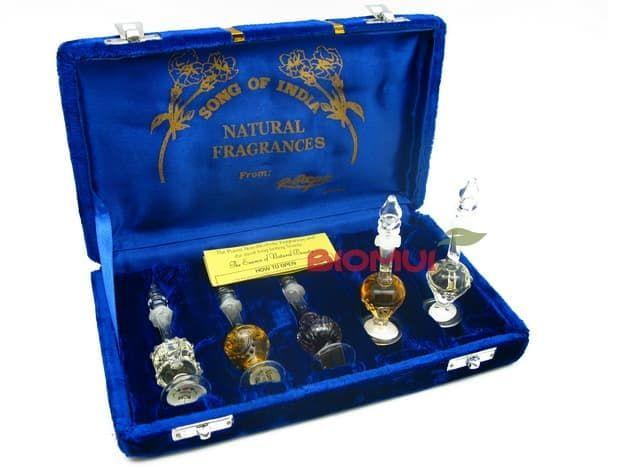 Подарочный набор Ароматное масло Song of IndiaАттары<br><br>