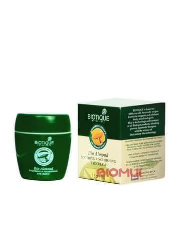 Питательный миндальный крем для кожи вокруг глаз BiotiqueКрем<br>Этот нежный, легкий и очень богатый по составу крем создан для полноценного питания и восстановления тонкой и чувствительной кожи век.<br>