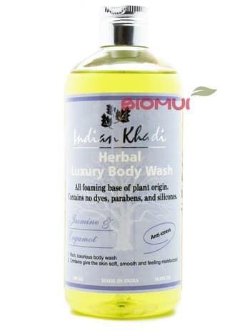 Расслабляющий гель для душа с жасмином и бергамотом «Indian Khadi» от BioMui
