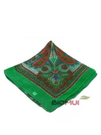 Шелковый платок (зеленый)Платки<br><br>