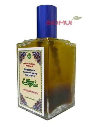 """Антицеллюлитное масло для тела """"Zeitun"""" от BioMui"""