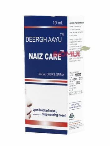 Растительные капли для носа Deergh AayuКапли для глаз и носа<br>Назальные капли Naiz Care используются при обычной простуде, чихании, насморке, аллергическом синусите, аллергическом рините из-за пыли и дыма, а так же мигрени.<br>