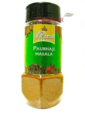 Приправа для овощей Пав Бхаджи Масала (Pav Bhaji masala)Специи и травы<br>Пряный микс представлен в молотом виде: ароматная смесь добавляется в закуски, к тушеным, жареным и запекаемым овощам, пюре.<br>