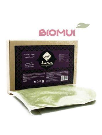 """Чистая басма для волос """"Adarisa"""" (черное индиго) от BioMui"""
