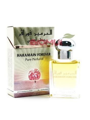 Масляные духи Forever Al-HaramainДухи масс маркет<br>Гармоничное, теплое, цветочно-фруктовое звучание аттара очаровывает и расслабляет.<br>