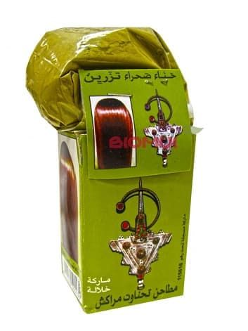 Марокканская хна для волос «Sahara Tazarine» (каштаново-медная)
