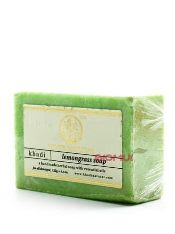 Натуральное кокосовое мыло с лемонграсом